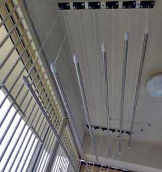 pulley cloth hanger ceiling cloth drying Hyderabad